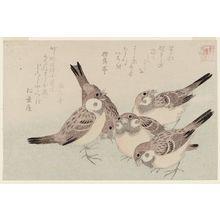窪俊満: The Tongue-cut Sparrow (Shita-kiri suzume), from the series Assorted Storybook Prints (Akahon tsukushi) - ボストン美術館