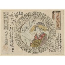 Utagawa Kuninao: A Mirror of Self-Conceit (Unebore kagami) - Museum of Fine Arts