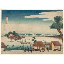 昇亭北壽: Shinobazu Benten Shrine - ボストン美術館