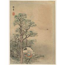 Suzuki Shônen: Landscape: Hermit's Hut under Trees - Museum of Fine Arts