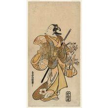 鳥居清信: Actor Ichikawa Monnosuke I - ボストン美術館