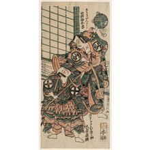 鳥居清信: Actors Nakamura Sukegorô as Sasaki Ganryû and Ôtani Hiroji II as Tsukimoto Mushanosuke - ボストン美術館