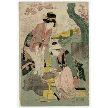 Kitagawa Utamaro: Women Making Roof Tiles - Museum of Fine Arts