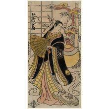 Torii Kiyomasu II: Actor Ogino Yaegiri - Museum of Fine Arts