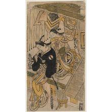 Okumura Toshinobu: Actors Arashi Wakano I and Ichikawa Kannosuke - Museum of Fine Arts