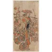 Furuyama Moromasa: Actor as Flower Vendor - Museum of Fine Arts