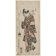 Ishikawa Toyonobu: Actor Sanogawa Ichimatsu - Museum of Fine Arts