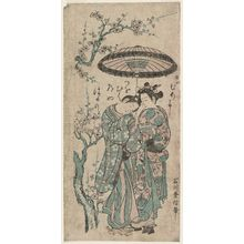 Ishikawa Toyonobu: The Lovers Osome and Hisamatsu - Museum of Fine Arts