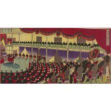 Kojima Shôgetsu: Illustration of the Diet Building (Kokkai Gijidô no zu) - ボストン美術館