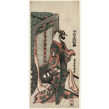 Torii Kiyohiro: Actor Nakamura Kiyosaburô - Museum of Fine Arts