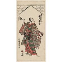 Torii Kiyomitsu: Actor Ichikawa Raizô as Minamoto Yoshitsune - Museum of Fine Arts