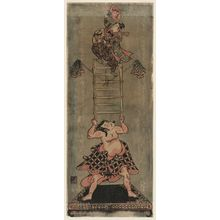 Torii Kiyomitsu: Mechanical Dolls Representing Acrobats - Museum of Fine Arts
