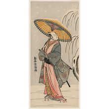 Torii Kiyomitsu: Actor Ichikawa Komazô II - Museum of Fine Arts