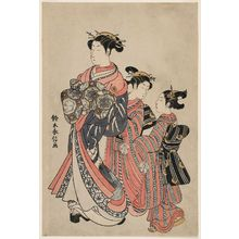 Suzuki Harunobu: Courtesan and Kamuro on Parade - Museum of Fine Arts
