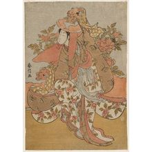 Suzuki Harunobu: The Lion Dance (Shakkyô) - Museum of Fine Arts