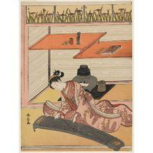 鈴木春信: The Koto Player - ボストン美術館