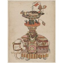 Komatsuken: Model Elephant with Mechanical Figures (karakuri) - ボストン美術館