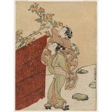 Suzuki Harunobu: The Persimmon Gatherers - Museum of Fine Arts