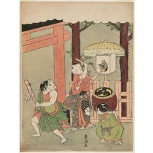 Suzuki Harunobu: Children's Dance at the Inari Festival - Museum of Fine Arts