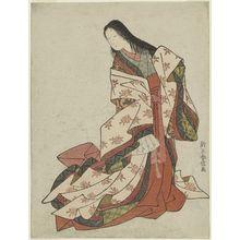 鈴木春信: Ono no Komachi - ボストン美術館