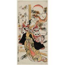 鳥居清信: Actor Segawa Kikunojô I - ボストン美術館