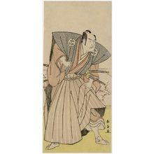 勝川春扇: Actor Ôtani Hiroji - ボストン美術館