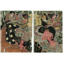 勝川春亭: Shutendoji - ボストン美術館