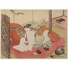 Suzuki Harunobu: Couple in Bed - Museum of Fine Arts