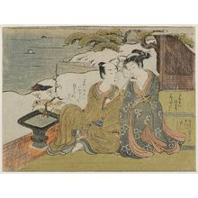 Suzuki Harunobu: Lovers Tete-A-Tete - Museum of Fine Arts
