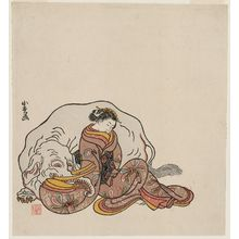 Komatsuken: Young Woman as the Bodhisattva Fugen - ボストン美術館