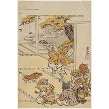 Komatsuken: Demon Attendants of Shutendôji at a Party on Mount Ôe - ボストン美術館