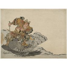Unknown: Chinese Warrior Killing a Giant Eagle - Museum of Fine Arts