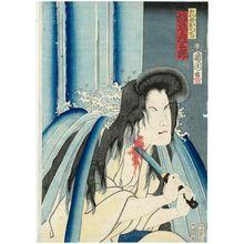 Toyohara Kunichika: Actor Bandô Hikosaburô as the Wetnurse Otsuji - Museum of Fine Arts