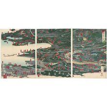 Utagawa Sadahide: Fugaku dôchû ichiran, sono ni - Museum of Fine Arts