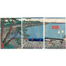Utagawa Sadahide: View of Takanawa in the Eastern Capital (Tôto Takanawa fûkei) - Museum of Fine Arts