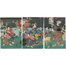 二代歌川国貞: Genji-e - ボストン美術館