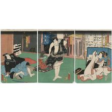 二代歌川国貞: Actors - ボストン美術館