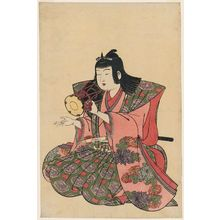 Kitao Shigemasa: Small Hand Drum, from an untitled set of Five Musicians (Gonin-bayashi) - Museum of Fine Arts