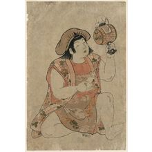 Kitao Shigemasa: Young Boy as Daikoku - Museum of Fine Arts