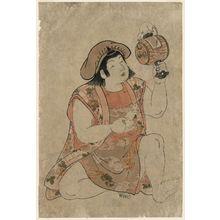 北尾重政: Young Boy as Daikoku - ボストン美術館
