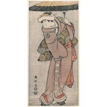 東洲斎写楽: Actor Yamashita Kinsaku II as Iwate, Wife of Sadato - ボストン美術館