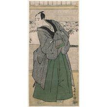 Toshusai Sharaku: Actor Sawamura Sôjûrô III as Satsuma Gengobei - Museum of Fine Arts