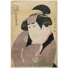 Toshusai Sharaku: Actor Yamashita Kinsaku II, also called Tennôji Rikô, as the Maid Okane, Actually Iwate Gozen, Wife of Sadato - Museum of Fine Arts
