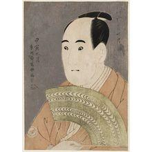 東洲斎写楽: Actor Sawamura Sôjûrô III as Ôgishi Kurando - ボストン美術館