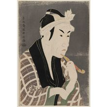 Toshusai Sharaku: Actor Matsumoto Kôshirô IV as Gorôbei, the Fishmonger from San'ya - Museum of Fine Arts