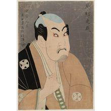 Toshusai Sharaku: Actor Tanimura Torazô as Washizuka Happeiji - Museum of Fine Arts