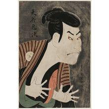 東洲斎写楽: Actor Ôtani Oniji III as the Manservant Edohei - ボストン美術館