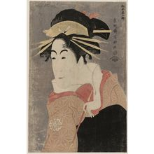 Toshusai Sharaku: Actor Matsumoto Yonesaburô as Kewaizaka no Shôshô, Actually Shinobu - Museum of Fine Arts