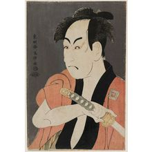 Toshusai Sharaku: Actor Ichikawa Omezô as the Manservant Ippei - Museum of Fine Arts