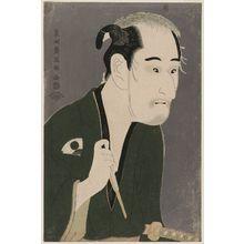 Toshusai Sharaku: Actor Onoe Matsusuke as Matsushita Mikinoshin - Museum of Fine Arts